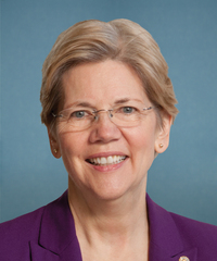 Photo of Sen. Elizabeth Warren [D-MA]