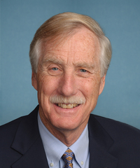 Photo of sponsor Angus King