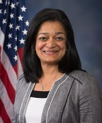 Photo of sponsor Pramila Jayapal