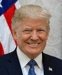 Photo of President Donald Trump [R]