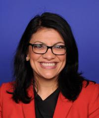 photo of Representative Rashida Tlaib