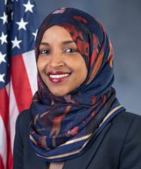 Photo of sponsor Ilhan Omar